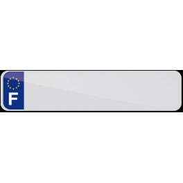 Plaque Auto FNI Plexi