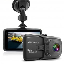 igoku cam ra embarqu e pour voiture dash cam full. Black Bedroom Furniture Sets. Home Design Ideas