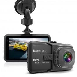 IGOKU® : Caméra Embarquée Pour Voiture / Dash Cam / Full HD 1080P