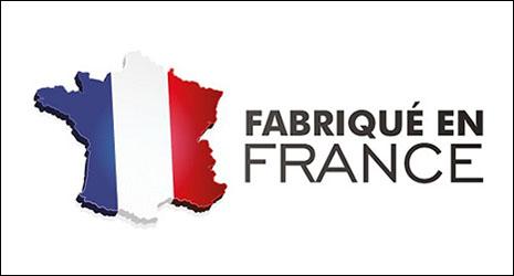 Plaque immatriculation fabriquée en France